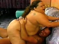 Adventure with hot overweight slut